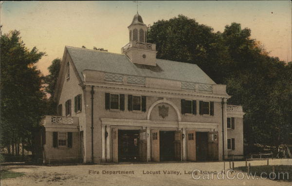 Fire Department, Long Island Locust Valley New York