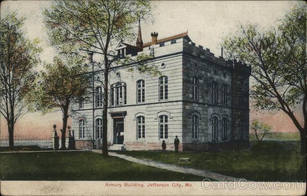 Armory Building Jefferson City Missouri