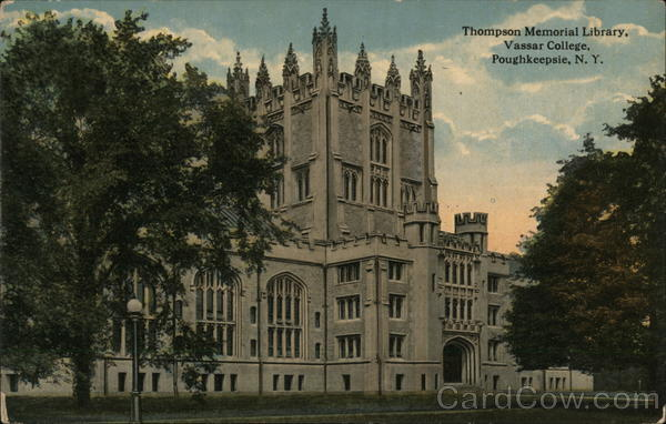 Thompson Memorial Library, Vassar College, Poughkeepsie, N. Y. New York