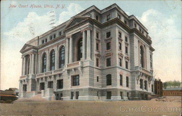 New Court House Utica New York
