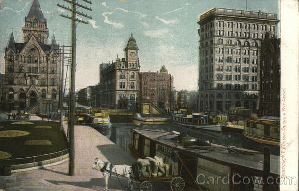 Clinton Square & Erie Canal Syracuse New York