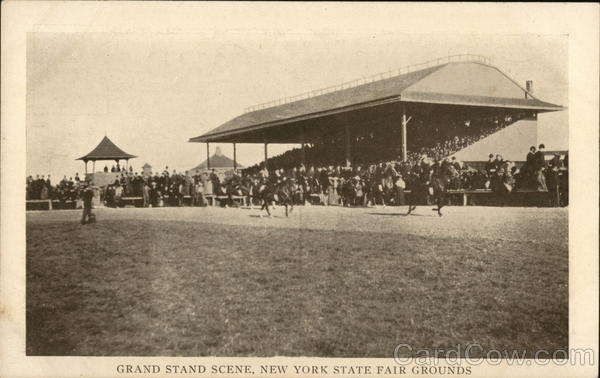 Grand Stand Scene, New York State Fair Grounds Syracuse