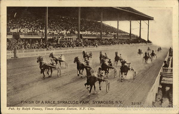 Finish of a Race, Syracuse Fair New York