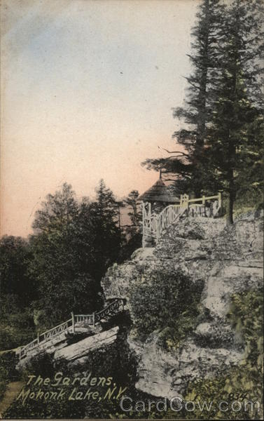 The Gardens, Mohonk Lake, N.Y. New Paltz New York