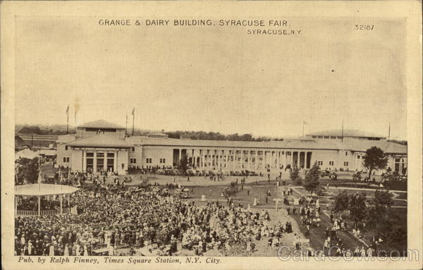 Grande & Dairy Building, Syracuse Fair New York