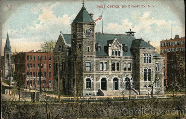 Post Office Binghamton New York