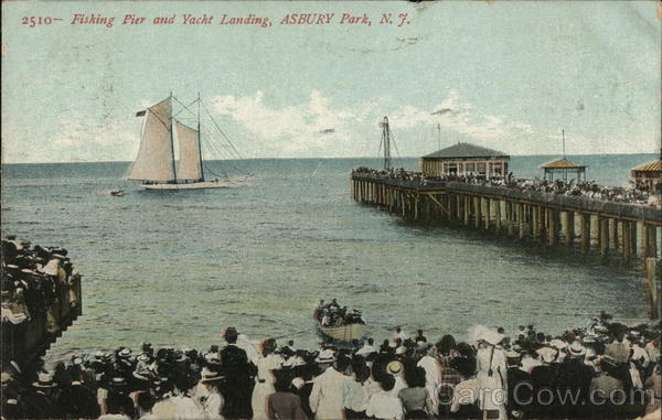 Fishing Pier and Yacht Landing Asbury Park New Jersey
