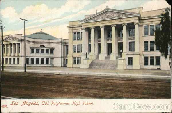 Los Angeles, Cal. Polytechnic High School California