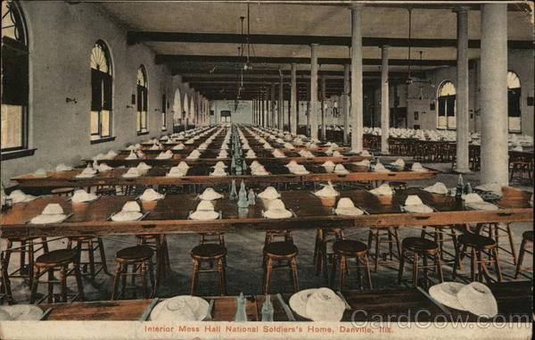 Interior Mess Hall National Soldiers's Home Danville Illinois