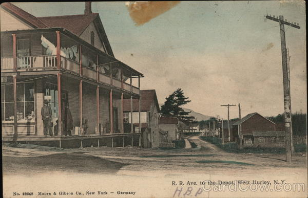 R.R. Ave. to the Depot West Hurley New York