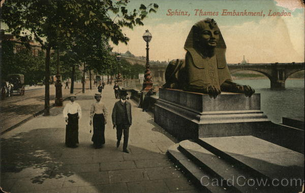 Sphinx, Thams Embankment London United Kingdom