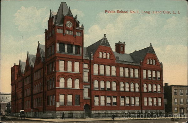 Public School No. 1 Long Island City New York