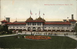 Bathing Pavilion Redondo Beach, CA Postcard