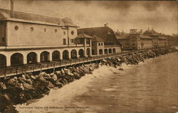 Auditorium Casino and Bath House Redondo Beach, CA Postcard