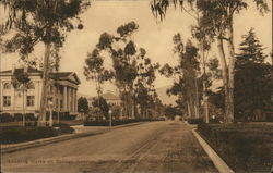 Pomona College - Looking North on College Avenue