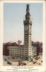 Bromo-Seltzer Tower Building, Emerson Drug Co.