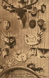 Eskimo Dance Masks