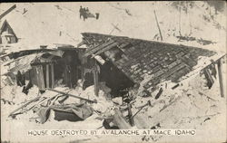 House Destroyed by Avalanche