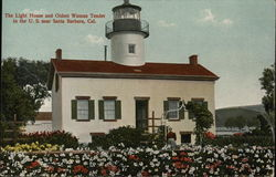 The Light House and Oldest Woman Tender in the U.S.