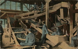 Slate Pickers At Work