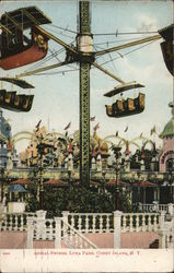 Aerial Swings, Luna park