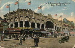 L. A. Thompsons Scenic Railway, Coney Island N.Y.