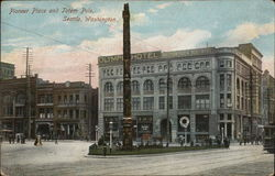 Pioneer Place and Totem Pole