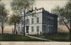 Armory Building Postcard