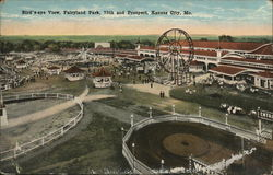 Bird's-eye View, Fairyland Park, 75th and Prospect