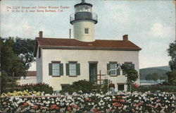 Light House and Oldest Woman Tender in the U.S.