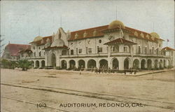 Auditorium Redondo Beach, CA Postcard