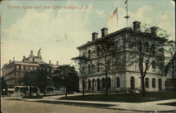 Custom House and Post Office Postcard