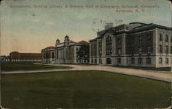 Gymnasium, General Library & Browne Hall of Chemistry, Syracuse University