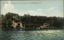 """Noted Boat Clubs Along the Lake"", Orange Lake"