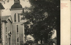 Methodist Church Fernandina Beach, FL Postcard