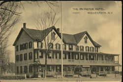 The Irvington Hotel Postcard