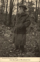 John Burroughs in Woodchuck Coat