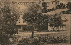 Orchard Grove House and Town Hall in the Catskill Mts.