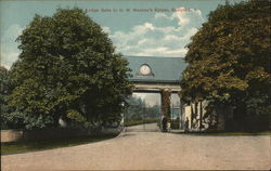 Lodge Gate to C. M. Mackay's Estate, Roslyn, L.I.