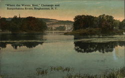 """Where the Waters Meet,"" Chenango and Susquehanna Rivers"