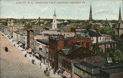 Birdseye View Showing Genesee St.