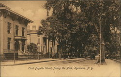 East Fayette Street, Facing the Park