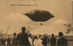 Airship at State Fair