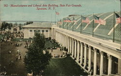 Manufacturers and Liberal Arts Building, State Fair Grounds