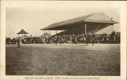 Grand Stand Scene, New York State Fair Grounds