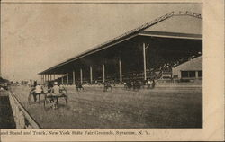 Grand Stand and Track, New York State Fair Grounds