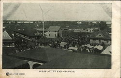 Scene at the Fair Grounds