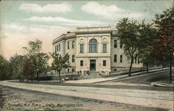 Yonkers Public Library, Washington Park