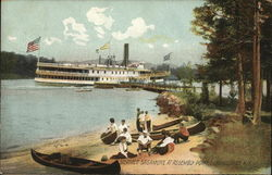 Steamer Sagamore at Assembly Point