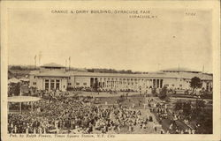 Grande & Dairy Building, Syracuse Fair